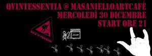 Qvintessentia Live - Masaniello Art Cafè Amalfi - 30/12/2015